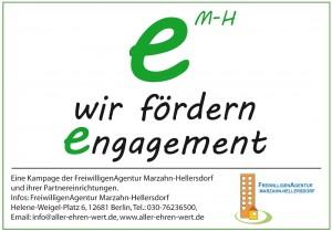wir fördern engagement