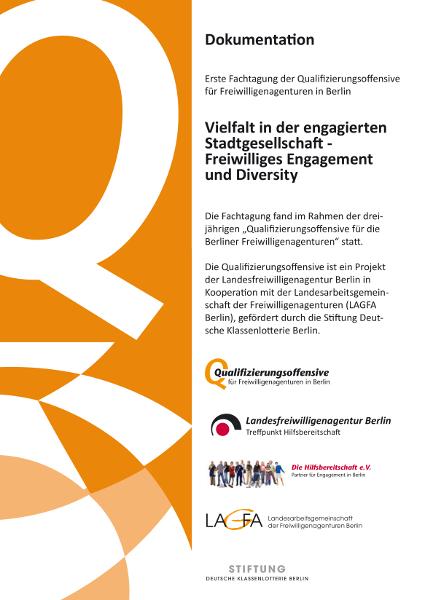 Qualifizierungsoffensive Fachtagung 2013