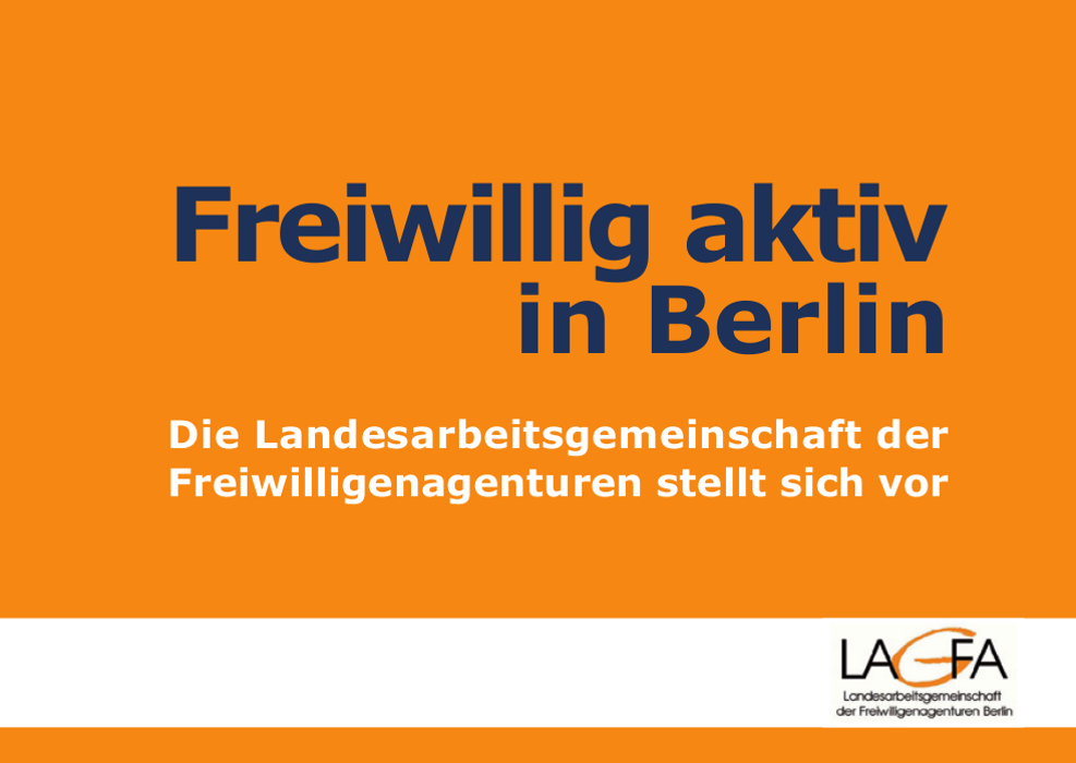 Freiwillig aktiv in Berlin