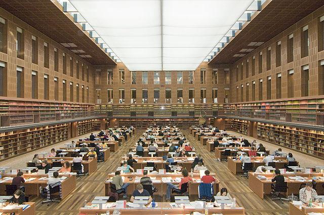 SLUB Dresden - Zentraler Lesesaal