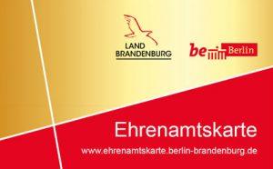 Ehrenamtskarte Berlin und Brandenburg