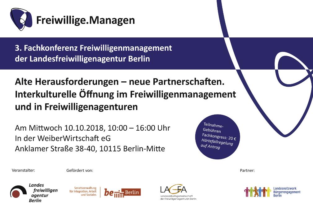 Einladung Fachkonferenz 2018