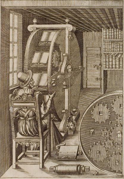 Ramellis Bücherrad